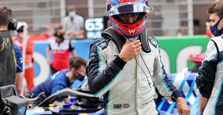 Russell proud of Williams team: 'That's an incredible achievement'