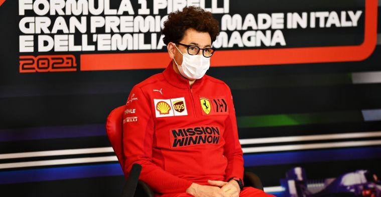 Binotto also sees upward trend at Ferrari: 'Will close the gap to McLaren'