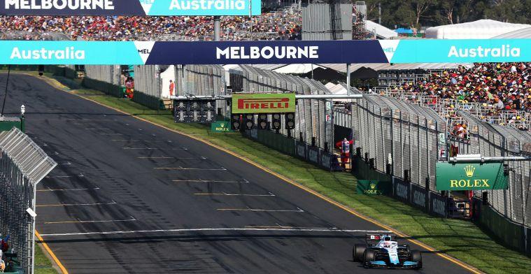 Grand Prix in Australië opnieuw onzeker, bevestigt minister-president