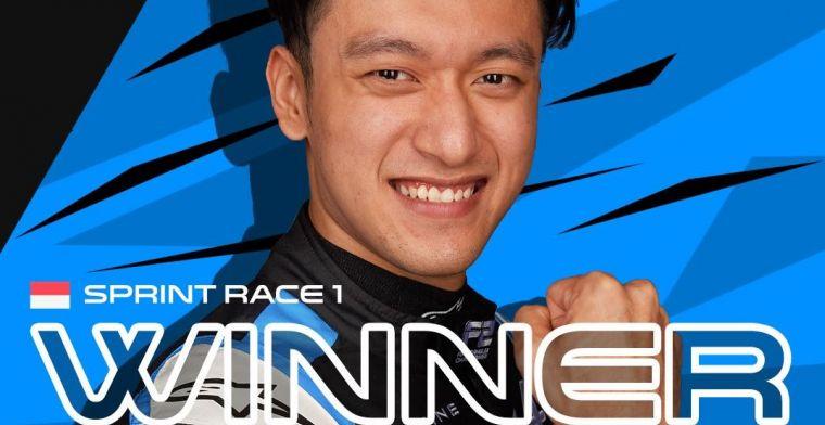 Zhou wins first F2 sprint race in Monaco; Ticktum sixth