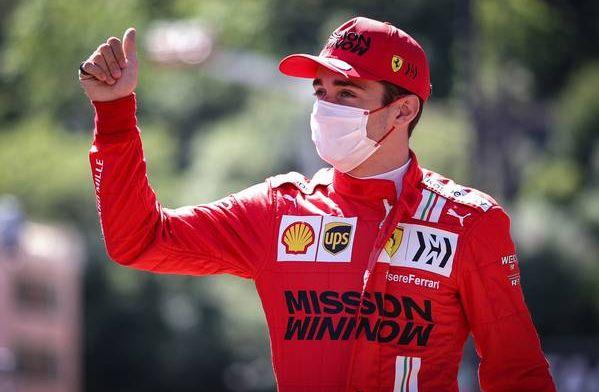 Leclerc start mogelijk toch achter Verstappen: 'Daar maak ik me zorgen over'