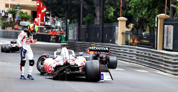 Haas loses huge amount of money after Schumacher crashes in Monaco