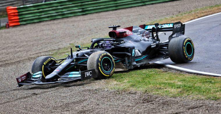 'Denk eens waar Hamilton zou staan in het kampioenschap zonder rode vlag in Imola'