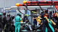 Afbeelding: 'De auto van Bottas staat nog altijd in de garage met het wiel eraan vast'