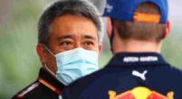 """Afbeelding: Honda prijst: """"Zie altijd de overeenkomsten tussen Verstappen en Senna"""""""