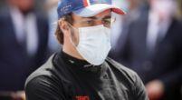 Afbeelding: 'Alonso zou competitief zijn geweest met werkende banden'
