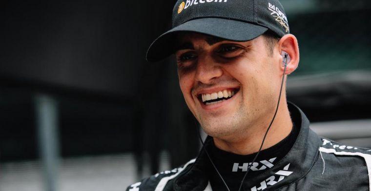 Laatste pitstop kost Veekay kans op goede klassering in Indy 500