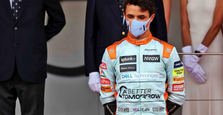 Norris: 'Meedoen aan de Indy 500 is iets om over na te denken in de toekomst'