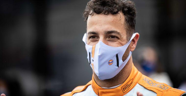 Norris stipt probleem aan van Ricciardo: 'Sainz was daar erg sterk in'