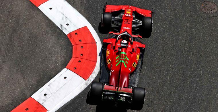 Volledige uitslag VT1: Ferrari lijkt opnieuw grootste uitdager van Red Bull