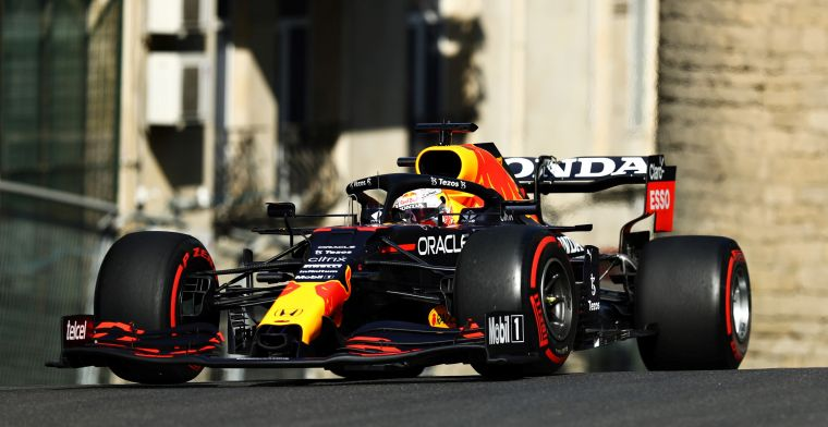 Vrijdag in Baku: Red Bull domineert, problemen voor Hamilton en Mercedes