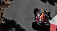 Afbeelding: 'Kijk naar de handen van Pérez, het lijkt wel alsof hij een rallyauto bestuurt'