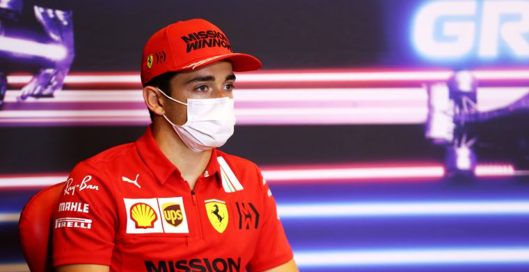 Charles Leclerc takes second consecutive pole position for the Azerbaijan GP