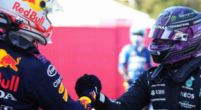 Afbeelding: Verstappen en Hamilton grappen over verbale strijd tussen Horner en Wolff