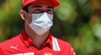 """Afbeelding: Leclerc pakt opnieuw pole: """"Alleen jammer dat het weer na een rode vlag is.."""""""