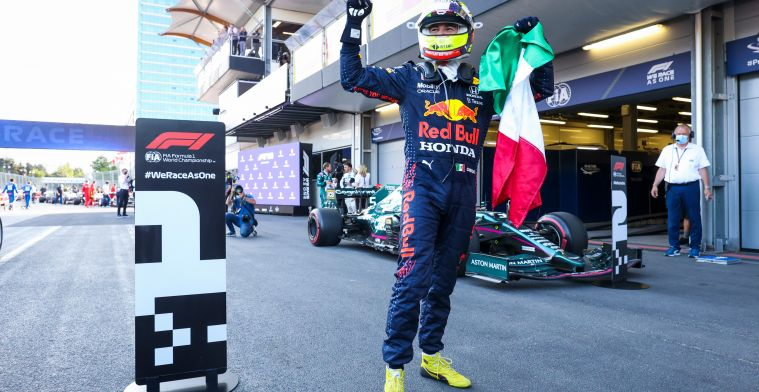 Who were the winners and losers of the Azerbaijan Grand Prix?