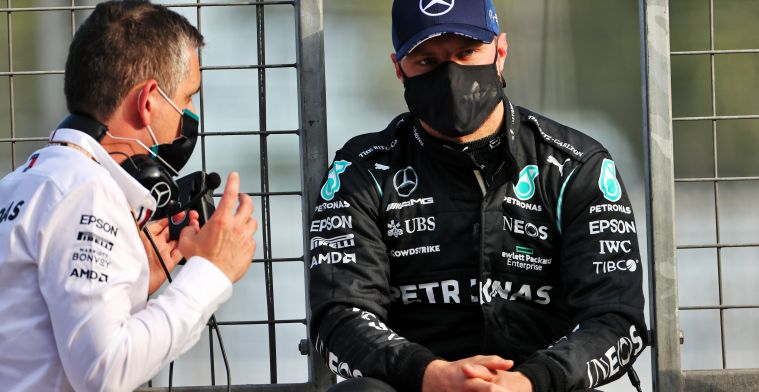 Tough day for Valtteri Bottas: 'The cars passed left and right, it wasn't fun'