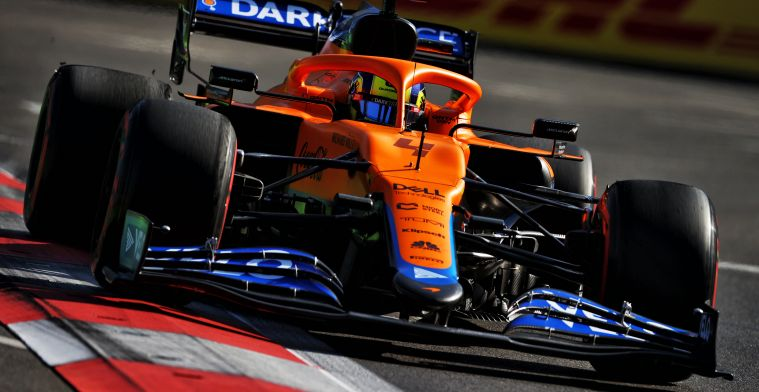 Norris thankful it went McLaren's way: 'It was pretty intense'