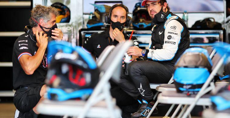 Budkowski: 'The heart-warming positive was some Fernando magic'