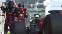Afbeelding: Verstappen leidt de GP van Baku na mega snelle pitstop!
