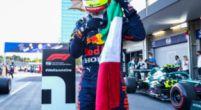 Afbeelding: Pérez denkt aan Verstappen: 'Max verdiende te winnen'
