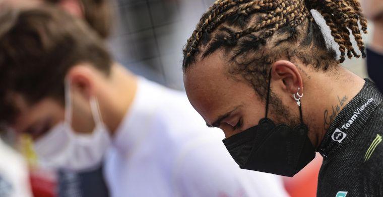 Heeft Hamilton knauw opgelopen? 'Gaat erom of hij zich mentaal kan herstellen'