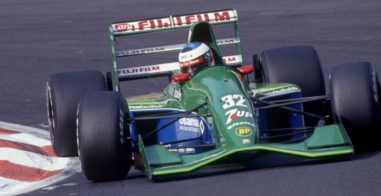 Een van de mooiste F1-wagens ooit te koop aangeboden: Jordan 191 van Schumacher