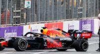 Afbeelding: Verstappen had nog 'geluk' met zijn crash: 'Dan waren de gevolgen groter geweest'