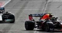Afbeelding: Hamilton komt niet voorbij aan Perez: 'Het is echt zo'n vervelende coureur'
