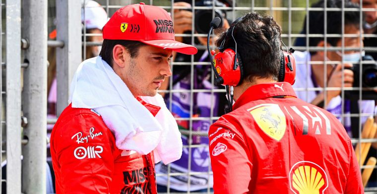 Leclerc happy despite missing out on a podium: 'I'm extremely happy for him'