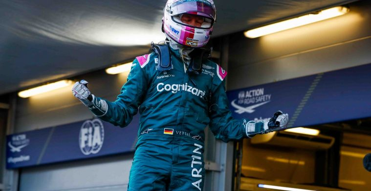 Vettel scored special podium for Aston Martin and himself