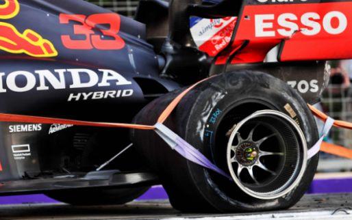 Italiaanse media: 'Crash van Verstappen niet door Pirelli, maar door Red Bull'