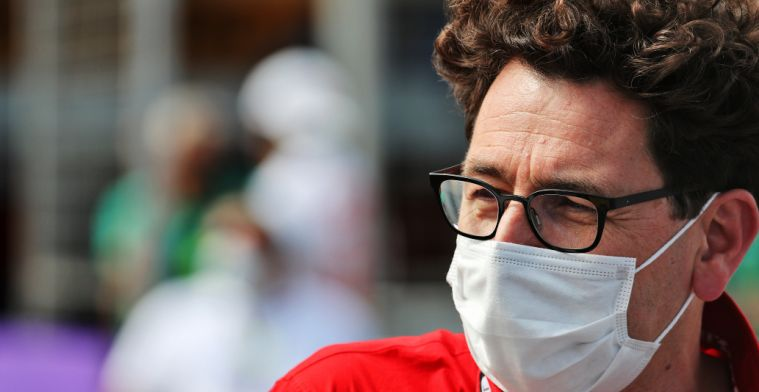 Binotto on Ferrari race pace: 'There is still room for improvement'