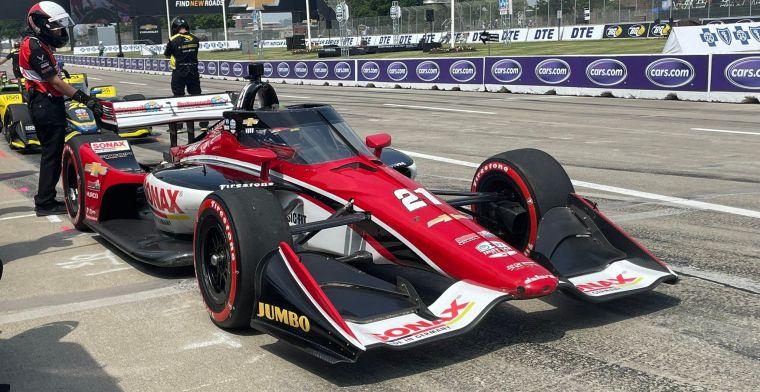 Veekay aangewezen op inhaalrace vanaf P12  in Detroit