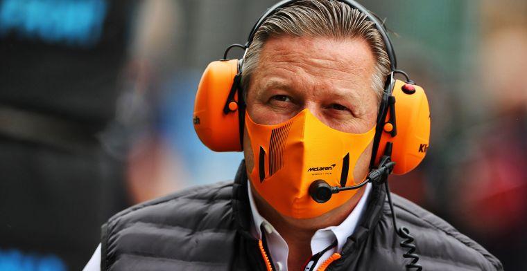 Brown behoedzaam met uitbreiden portfolio McLaren: 'Dit mag niet opnieuw gebeuren'