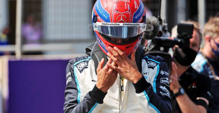 Russell duidelijk over Mercedes-geruchten: 'Voor Spa wil ik duidelijkheid'