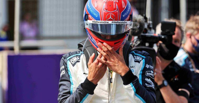 Alonso heeft mooie boodschap voor Russell: George, je bent ijzersterk