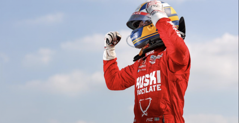 Ericsson wins his first IndyCar race, Veekay on the podium again