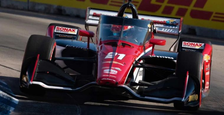 VeeKay climbs up the IndyCar rankings after second place
