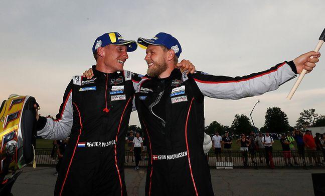 Van der Zande and Magnussen take first IMSA win of this season
