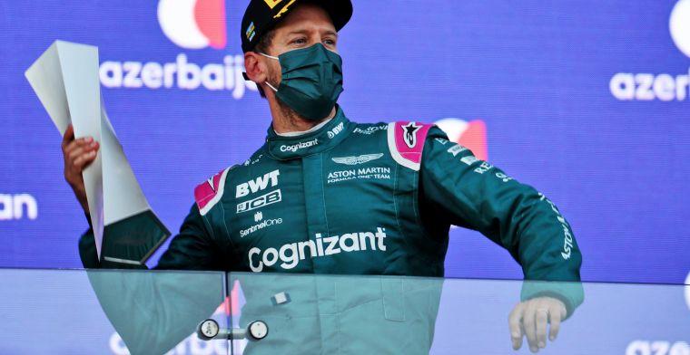 Vettel zou plek opgeven voor jonge coureurs: 'F1 heeft maar weinig plek'