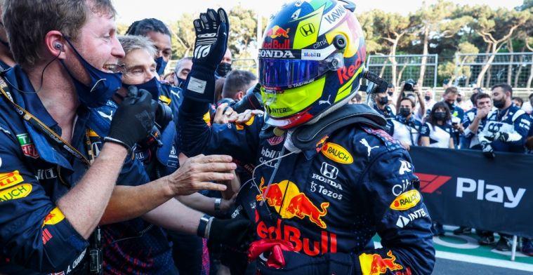 Perez ziet nu twee Red Bull's vechten om zege: Geweldige opsteker
