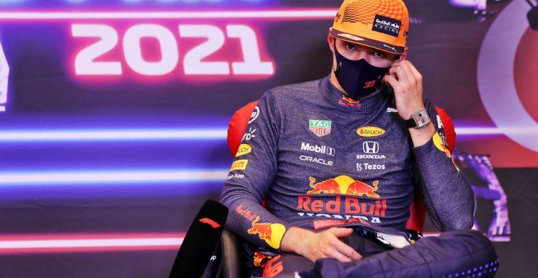 Verstappen over prestaties Perez: 'Baku was een voorbeeld van hoe het moet'