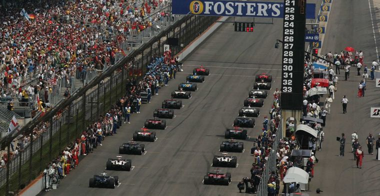 Indianapolis not a candidate for second Formula 1 race in America