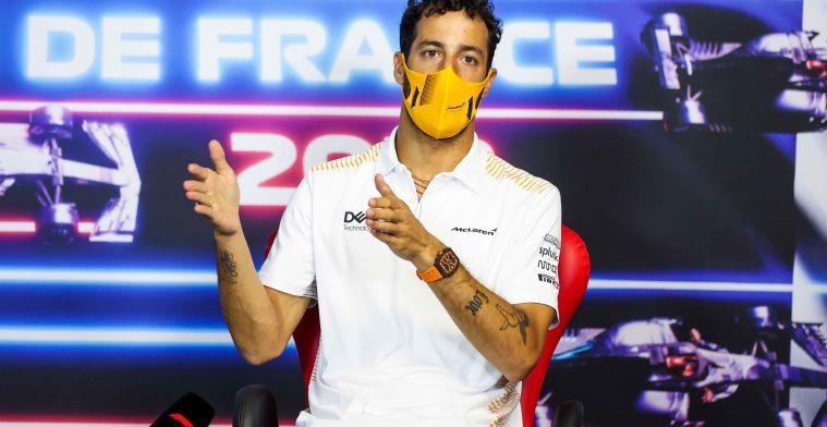 Ricciardo over Paul Ricard: 'Dan denk je: naar de hel ermee!'
