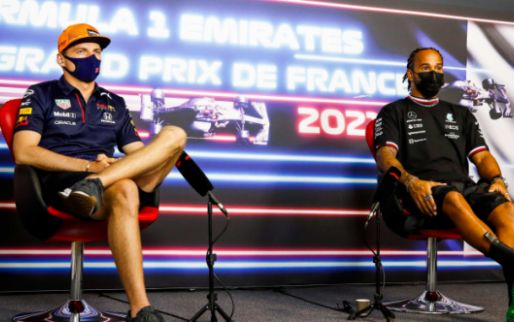 Image: Hamilton and Verstappen to plan 'good night out' when things return to normal