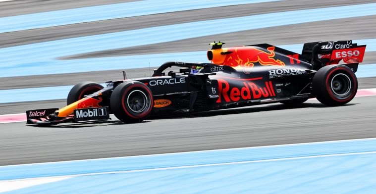 Red Bull grumbles on team radio: 'It seems like such a huge penalty'
