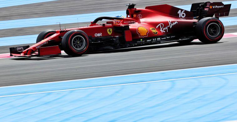 Geen wonderrondjes meer van Leclerc: 'Staan waar we ons verwachtte'
