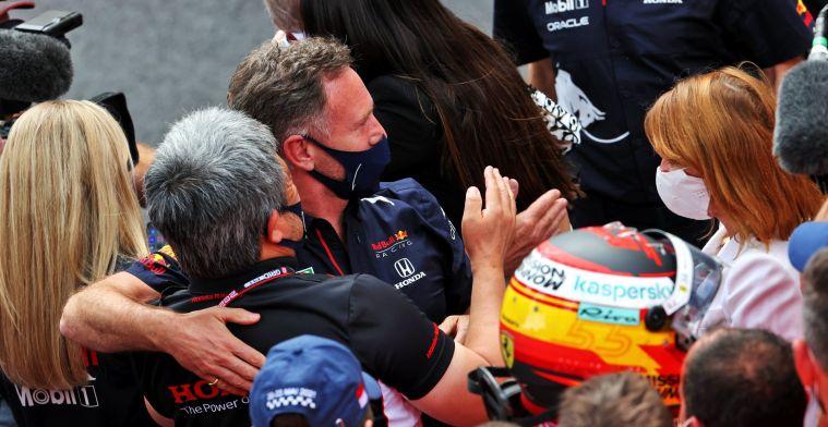 Horner verbaasd over Mercedes: 'Dat hebben we de laatste jaren niet meer gezien'