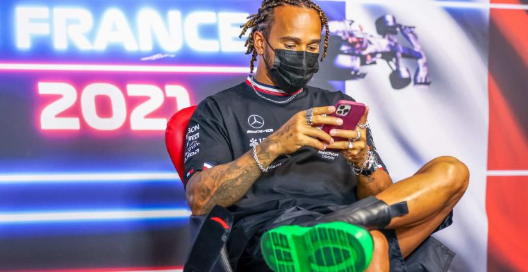 F1 Social Stint | Hamilton in the spotlight because of special shoes